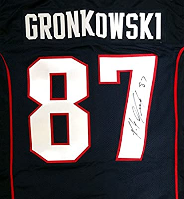 Rob Gronkowski Autographed New England Patriots Jersey PSA/DNA