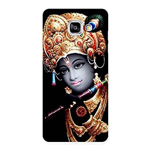 Om Krishna Back Case Cover for Galaxy A5 2016