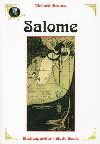 リヒャルト・シュトラウス.: オペラ「サロメ」 Op.54/ブージー & ホークス社全曲版スコア