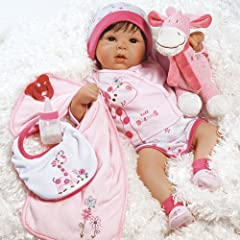Paradise Galleries Lifelike Realistic Weighted Baby Doll