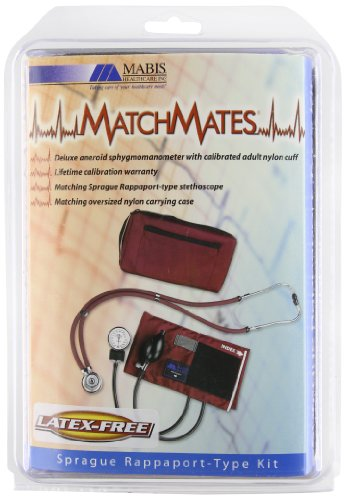 Matchmates Aneroid Sphygmomanometer And Sprague Rappaport-Type Combination Kit, Royal Blue front-571462
