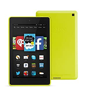 "Fire HD 6, 6"" HD Display, Wi-Fi, 8 GB, Citron"