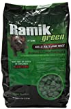 NEOGEN RODENTICIDE Ramik Mouse and Rat Nuggets Pouch, 4-Pound, Green