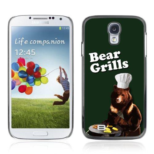 Designheaven Slim Design Case Samsung Galaxy S4 Iv I9500 ( Cool Funny Bear Grills Chef BBQ )
