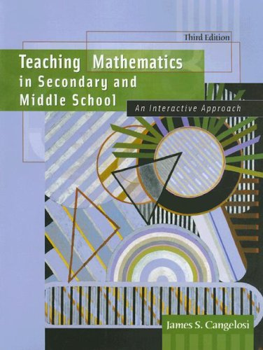 Teaching Mathematics in Secondary and Middle School: An...