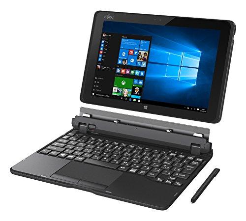 富士通 タブレット arrows Tab QH WQ2/X(Windows 10/10.1型ワイド/Atom/4GBメモリ/約128GB フラッシュメモリ/Office搭載)FARWXQ2N_Z536