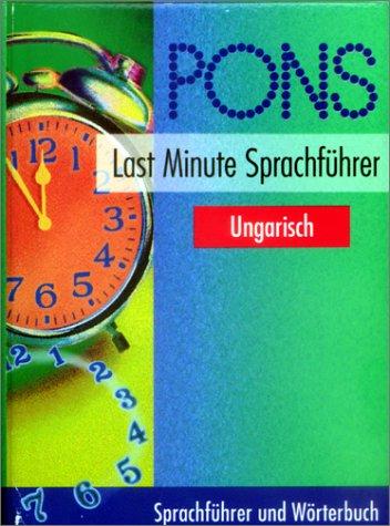 PONS Last Minute Sprachführer, Ungarisch