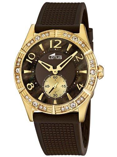 e7e874690dbe Lotus 15762 3 - Reloj analógico de cuarzo para mujer con correa de plástico