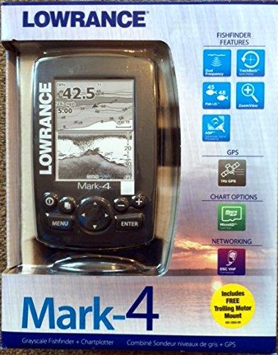 LRA10483 - LOWRANCE 000-10483-001 Mark-4 Combo Base Fishfinder amp; Chartplotter