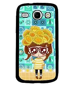 PrintVisa Metal Printed Girly Designer Back Case Cover for Samsung Galaxy Core I8260/ I8262-D4825