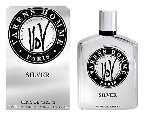 Silver Varens Ulric di acqua da bagno da uomo, 100 ml