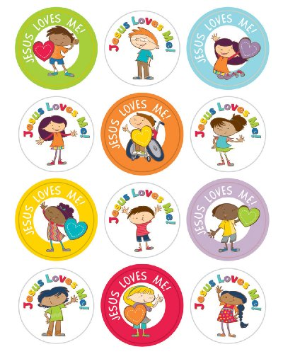 Jesus Loves Me! Sticker Pack