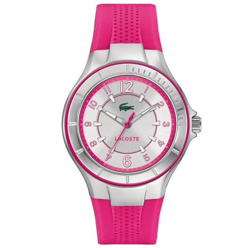 Lacoste Ladies Acapulco Pink Rubber Watch 2000759