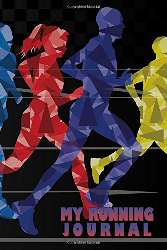 My Running Journal: Rainbow Runner, 6 x 9, 52 Week Running Log