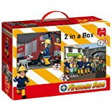 Fireman Sam 2-in-1 Puzzles (12 and 24 Pieces)by Jumbo Games