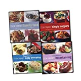 Various Weight Watchers Cook Smart 4 Books Recipies Collection Set (Weight Watchers Cook Smart Easy Everyday, Entertaining, Suppers, Family Food)