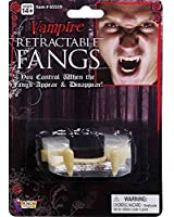 Retractable Vampire Fangs Adult - One-Size