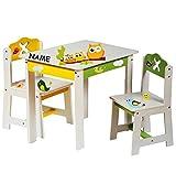 3-tlg-Set-Sitzgruppe-fr-Kinder-aus-sehr-stabilen-Holz-wei-lustige-Eulen-auf-dem-Ast-Tisch-2-Sthle-Kindermbel-fr-Jungen-Mdchen-Kindertisch-Kinderstuhl-Kinderzimmer-fr-circa-1-3-Jahre-Kindersitzgruppe-T