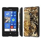 NakedShield Nokia Lumia 521 (Hunter Camouflage) Total Hard Armor LifeStyle Phone Case