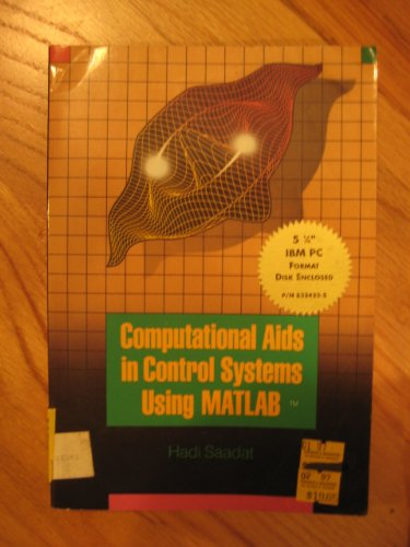 Computational AIDS in Control Systems Using Matlab (McGraw-Hill series in electrical and computer engineering)
