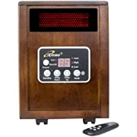iLiving ILG-918 1500W Infrared Portable Electric Space Heater