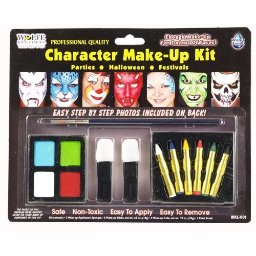 Character Makeup Kit Wolfe Bros Makeup Accessory front-883932
