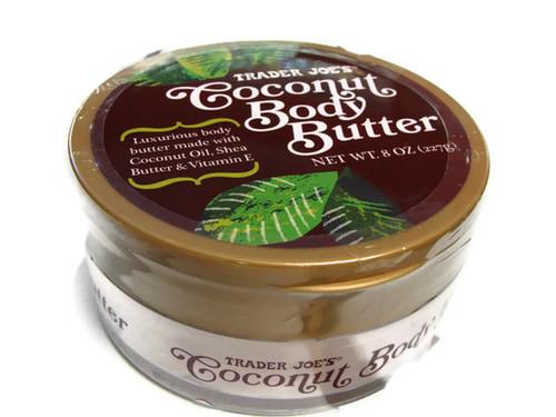 trader joe 39 s coconut body butter 8 oz 00501309 coconut oil body butter beauty. Black Bedroom Furniture Sets. Home Design Ideas