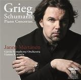 グリーグ&シューマン : ピアノ協奏曲集 (Grieg & Schumann : Piano Concertos / Janne Mertanen , Gavle Symphony Orchestra , Hannu Koivula) [SACD Hybrid] [輸入盤]