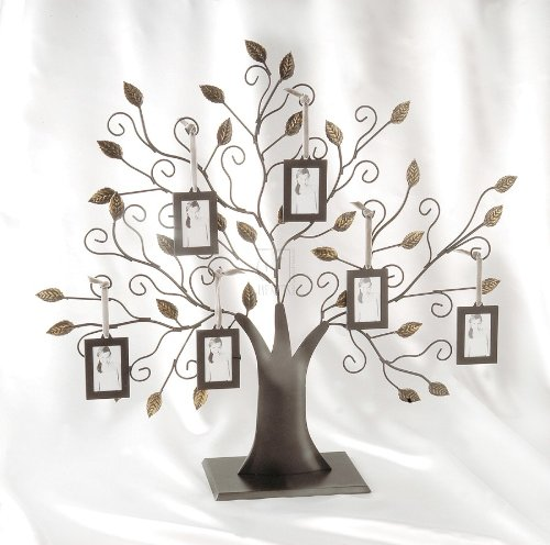 Family Tree w/6 Hanging Picture Frames – Family Tree w/6 Hanging Frames – Pic…