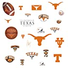 RoomMates RMK1073SCS University of Texas Peel & Stick Wall Decals