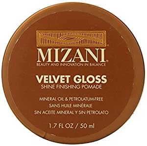 smarttwarehouse Mizani Velvet Gloss Shine Finishing Pomade for Unisex 1.7 Ounce