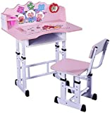 Happy Home Depot Study Table (Pink, 30 inches x 20 inches x 3 inches)
