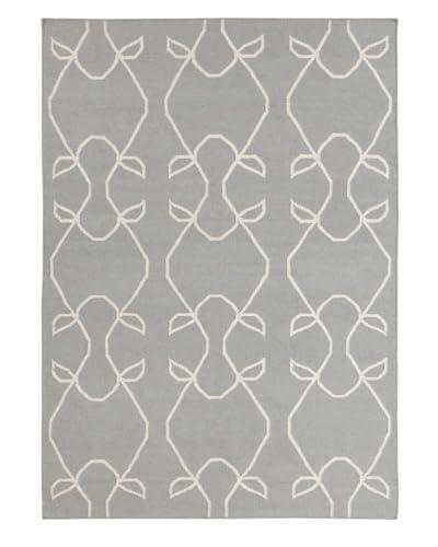 Bunker Hill Rugs Stephanie Rug, Grey/Ivory, 5' x 7'