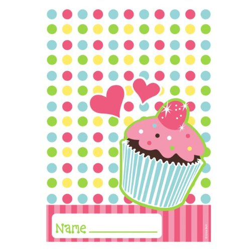 Cupcake Party Loot Bags (8-pack) - 1