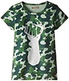 Scullers Kids Girls' Shirt (MU0252_Camou_7 - 8 years)