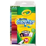 Crayola 50 Washable Supertips (12 Sil...