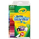 Crayola 50ct Washable Super Tips with Silly Scents – Just $6.96!