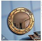 Nautical Ship Porthole Mirror Wall Decor