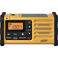 Sangean MMR-88 FM/AM/Weather/Handcrank/Solar Emergency Alert Radio