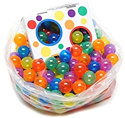 270 Wonder Invisiball w/ FREE Toss Zone Non-Toxic Non-Recycled Crush Proof Quality Phthalates BPA & Lead Free, 6 Colors