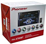 Pioneer FH-X700BT In-Dash Double DIN CD/MP3/USB Car Stereo Receiver w/ Bluetooth, Pandora Link, MIXTRAX &amp; iPod Support