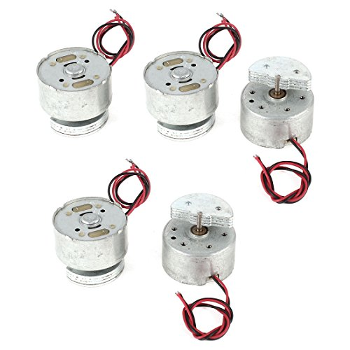 5 Pcs Mini Vibration Vibrating Toys Motor 3500Rpm Dc 1.5-6V Rf300
