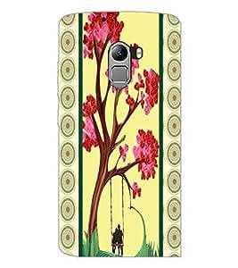 PrintDhaba Flowers D-3816 Back Case Cover for LENOVO VIBE K4 NOTE (Multi-Coloured)