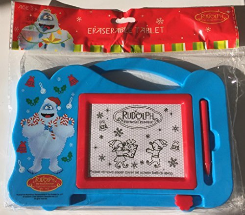Rudolph The Red-Nosed Reindeer BUMBLE Eraserable Travel Magnetic Tablet