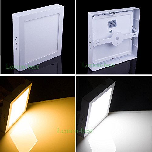 Super Bargain!!! New Model!! 9W 15W 21W Square Dimmable Led Surface Mount Ceiling Wall Panel Light Lamp Bulb In Home