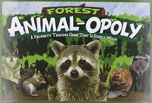 Monopoly Board Game Animals