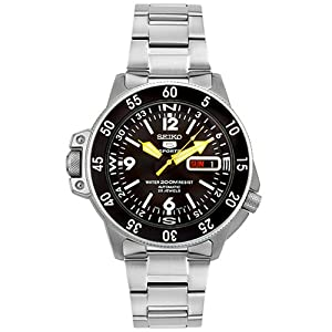 Seiko 5 Sports Automatic Atlas Diver Black Dial