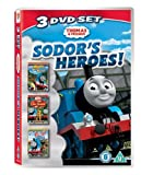 Thomas & Friends: Sodor's Heroes! (Triple Pack; Wobbly Wheels & Whistles, The Lion of Sodor, and Pop Goes Thomas) [DVD]