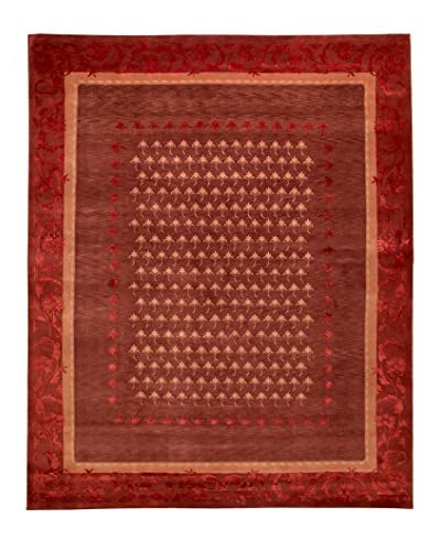 Roubini Tibetan Super Fine Collection Hand-Knotted Rug, Multi, 9' x 12'