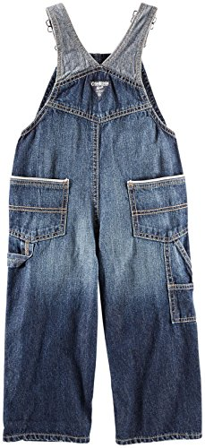OshKosh B'gosh Baby Boys' Denim Overalls (Baby) - Dark Wash - 3 Months